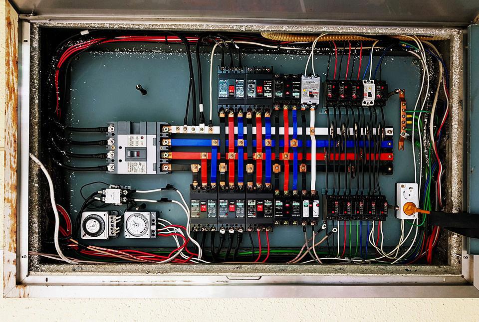photo d'un tableau électrique