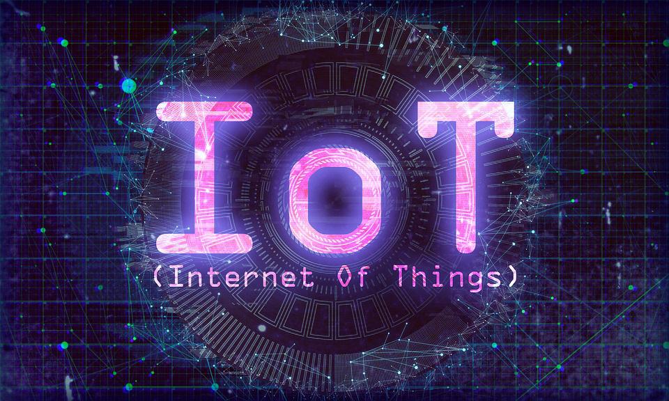 Phot dessin d'un texte IOT