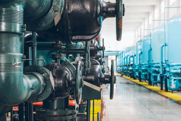 Photo de vannes industrielles