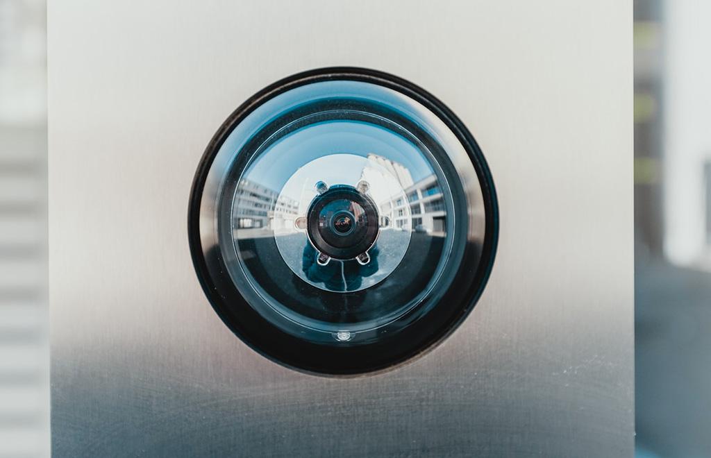 Photo d'une caméra de sécurité pour maison